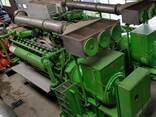 Б/У газовый двигатель Jenbacher J320 GS B05,1000 Квт,1996 г. - фото 1