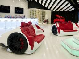 Luxury racing sofas lamborgini murcelago are designed