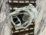 Snowboard White & Brown 148cm RRP With Bindings - photo 4